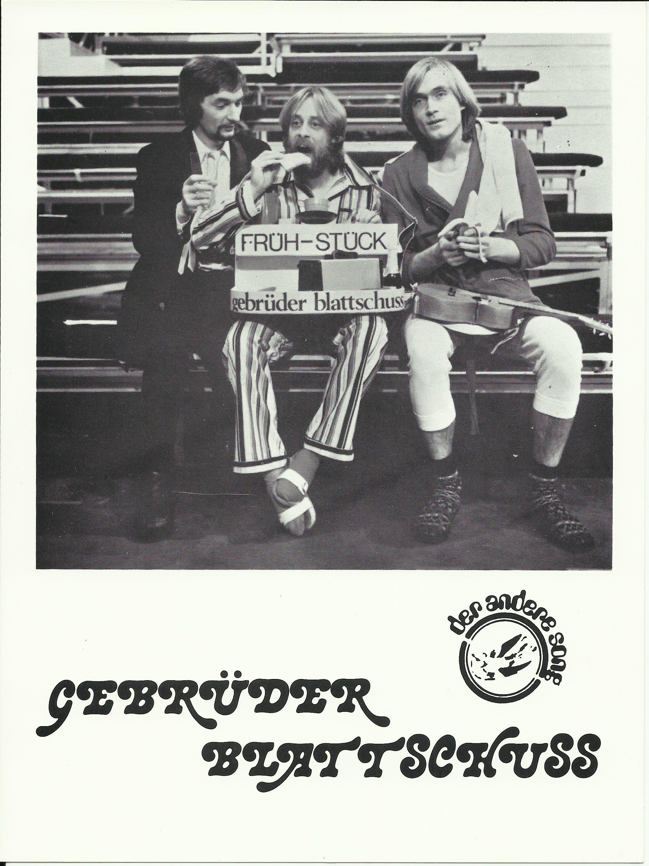 Hinter den Kulissen der ZDF Hitparade ca. 1980
